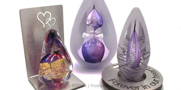 Glas urn – Premium A-lijn