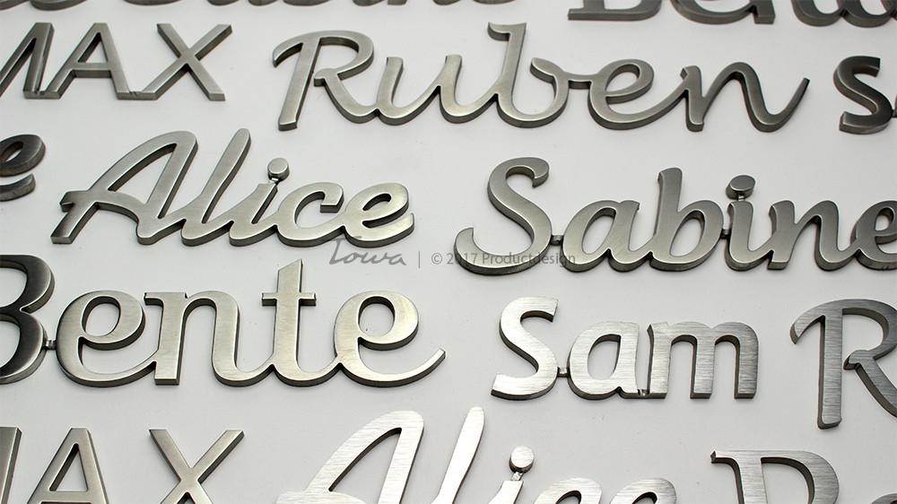 grafsteen belettering